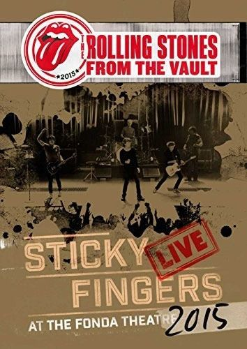 Rolling Stones - From The Vault - Sticky Fingers: Live At The Fonda Theater 2015 - Dvd Importado  - Billbox Records