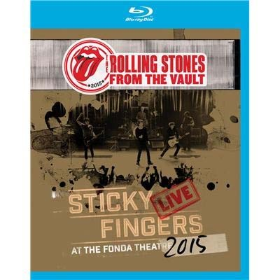 Rolling Stones - From The Vault - Sticky Fingers: Live At The Fonda Theater 2015 - Blu Ray Importado  - Billbox Records