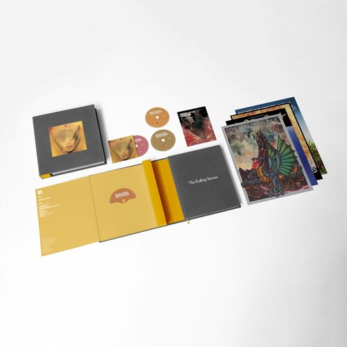 Rolling Stones Goats Head Soup Box 3 CDs + Blu-ray Importados  - Billbox Records