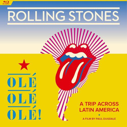 Rolling Stones - Ole Ole Ole A Trip Across Latin America - Blu Ray Importado  - Billbox Records