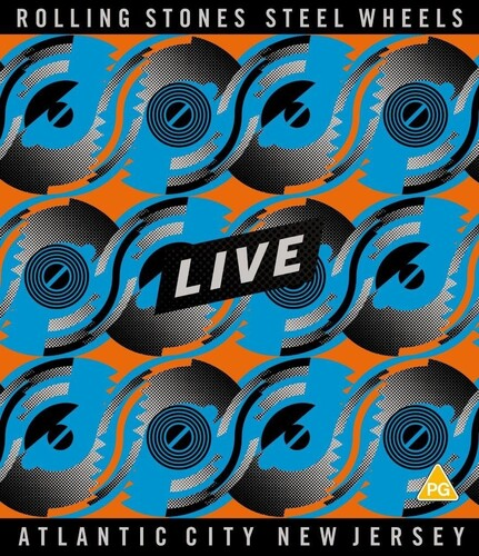Rolling Stones - Steel Wheels Live: Atlantic City, New Jersey - Blu Ray Importado  - Billbox Records