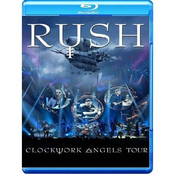 Rush - Clockwork Angels Tour - Blu ray Importado  - Billbox Records