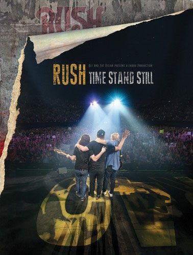 Rush - Time Stand Still - Blu Ray Importado  - Billbox Records
