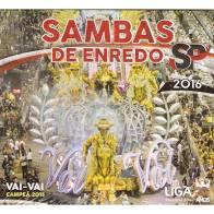 Sambas de Enredo São Paulo 2016 - Cd Nacional  - Billbox Records