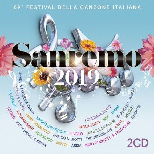 Sanremo 2019 - 2 Cds Importados  - Billbox Records