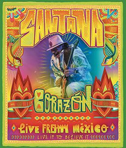 Santana - Corazon Live From Mexico Dvd  - Billbox Records