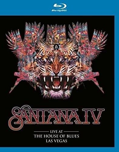 Santana Iv - Live At The House Of Blues Las Vegas - Blu Ray Importado  - Billbox Records