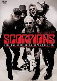 SCORPIONS EM DOBRO - SESSIONS BASEL 2009 - SUPER ROCK 1984 - DVD NACIONAL  - Billbox Records