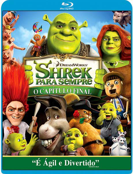Shrek Para Sempre - O Capitulo Final - Blu Ray Nacional  - Billbox Records