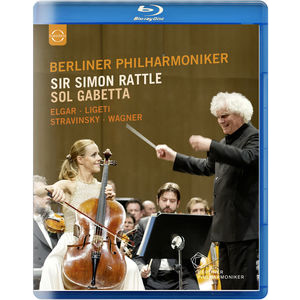 Simon Rattle / Sol Gabetta / Berliner Philharmonik / Sir Simon Rattle & Sol Gabetta - Blu-Ray Importado  - Billbox Records