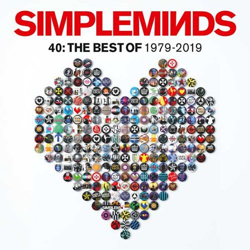 Simple Minds 40: The Best Of 1979-2019 - 2 Lps Importados  - Billbox Records