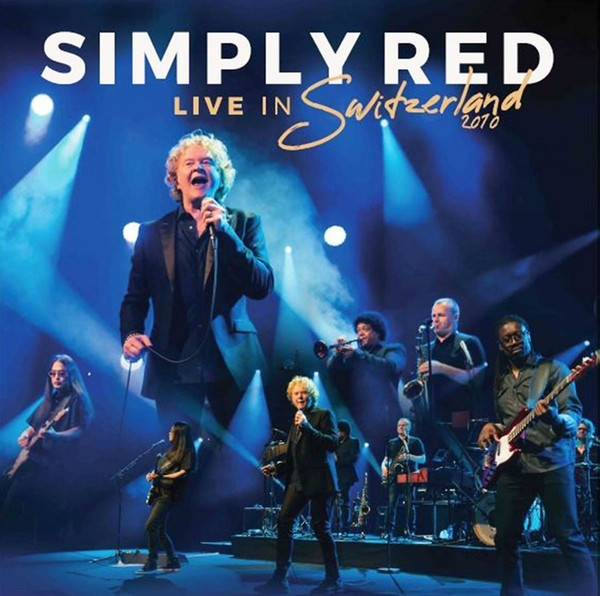 SIMPLY RED LIVE IN SWITZERLAND 2010 - DVD NACIONAL  - Billbox Records