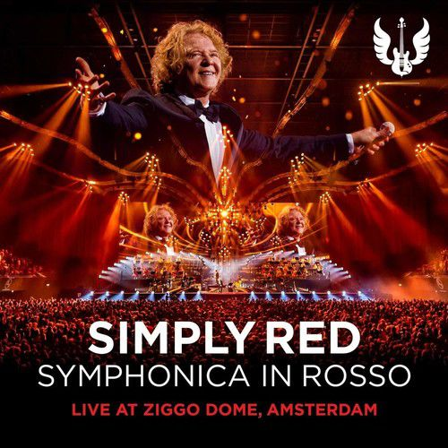 Simply Red - Symphonica In Rosso (live At Ziggo Dome Amsterdam) - Cd+Dvd Importado  - Billbox Records