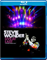 Stevie Wonder - Live At Last - Blu ray - Billbox Records