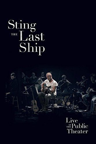 Sting Last Ship Live - Blu ray Importado  - Billbox Records