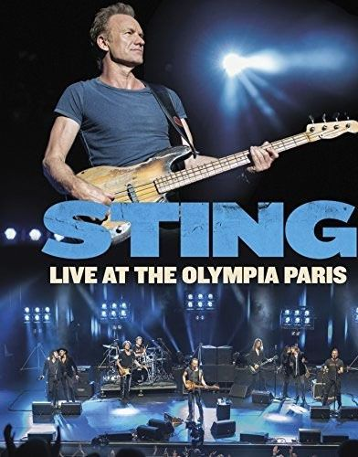 Sting - Live at the Olympia Paris - Dvd Importado  - Billbox Records