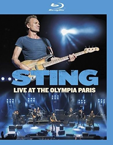 Sting - Live At The Olympia Paris - Blu ray Importado  - Billbox Records