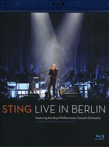 Sting - Live In Berlin - Blu Ray Importado  - Billbox Records