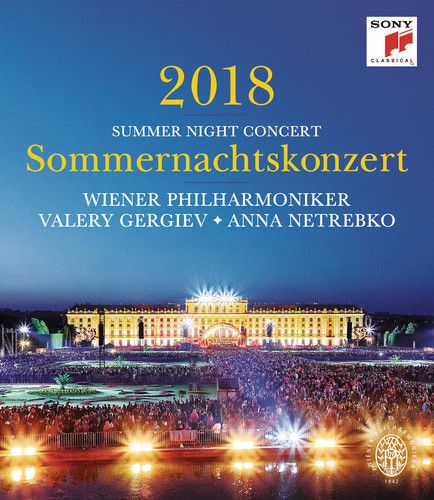 Summer Night Concert 2018 -  Sommernachtskonzert 2018 - Blu Ray Importado  - Billbox Records
