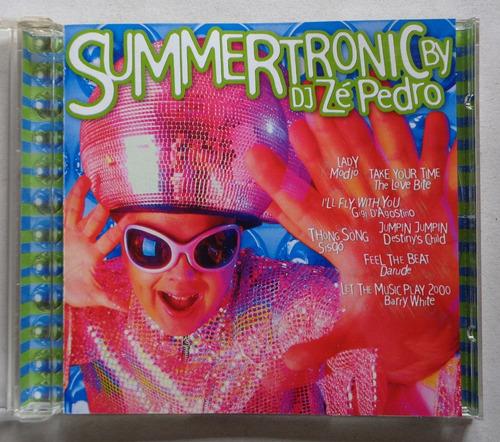 Summertronic Dj Zé Pedro - Cd Nacional  - Billbox Records