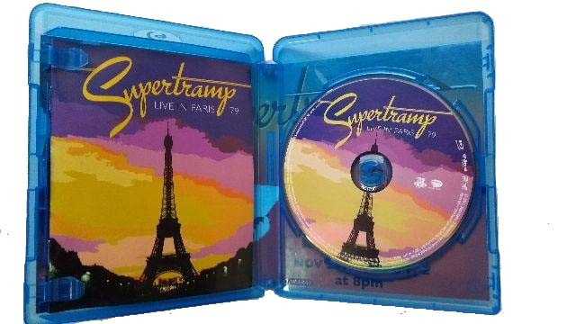 Supertramp - Live In Paris 79 - Blu Ray - Billbox Records