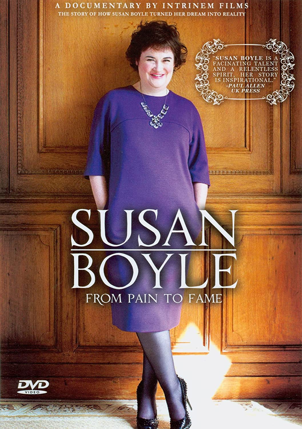 Susan Boyle - From Pain To Fame - Dvd Importado  - Billbox Records