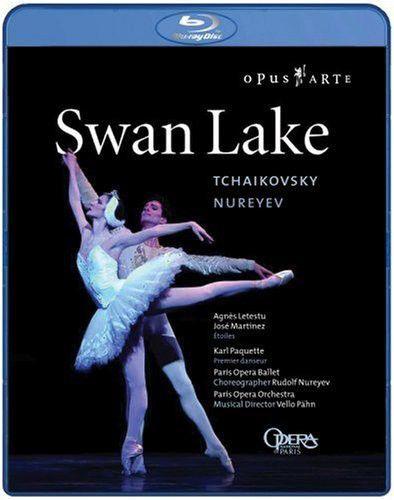 Swan Lake -  Rudolf Nureyev, Agnès Letestu, Paris Opera Ballet - Blu ray Importado  - Billbox Records