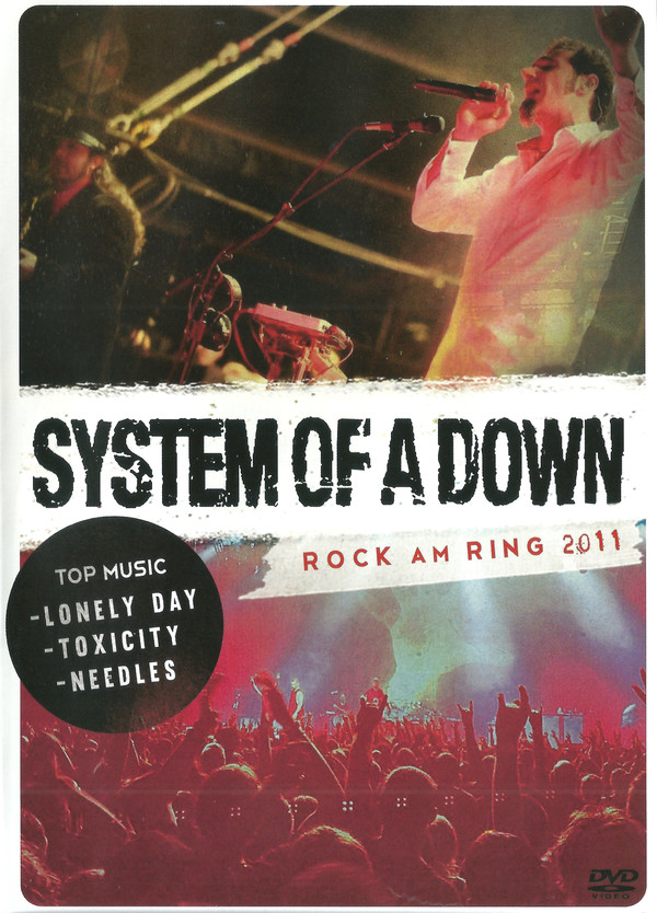 SYSTEM OF A DOWN ROCK AM RING 2011- DVD NACIONAL  - Billbox Records