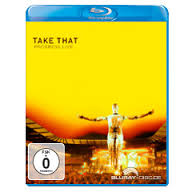 Take That - Progress Live Blu Ray - Billbox Records