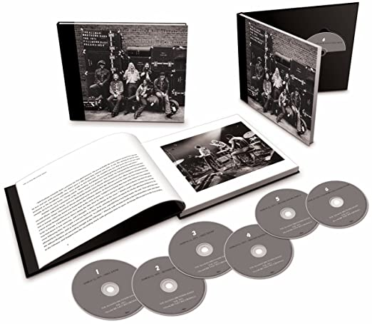 The Allman Brothers Band - 1971 Fillmore East Recordings - 6 CDS Importados  - Billbox Records