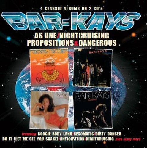 The Bar-Kays - As One - Nightcruising  - Propositions - Dangerous [Import] - 2 Cds Importados  - Billbox Records