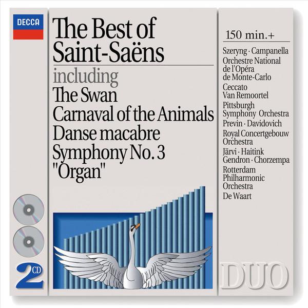 The Best of Saint-Saëns (1994) - Cd Importado  - Billbox Records