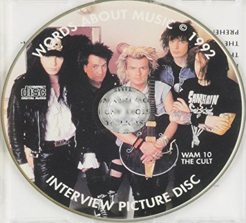 THE CULT - 1992 Interview Picture Disc - CD IMPORTADO  - Billbox Records