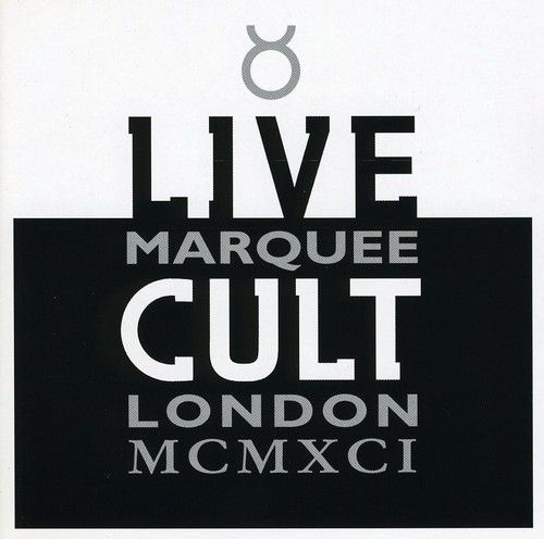 The Cult - Live Marquee London MCMXCI - CD IMPORTADO  - Billbox Records