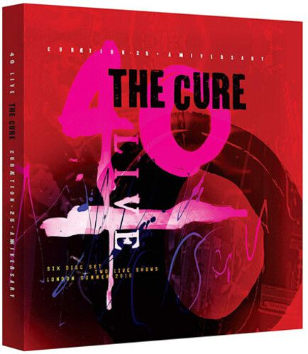 The Cure 40 Live Curaetion 25 + Anniversary 2 Blu rays Importados  - Billbox Records