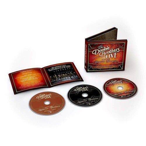 The Doobie Brothers Live From The Beacon Theatre - 2Cds + Dvd Importados  - Billbox Records
