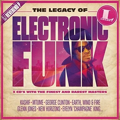 The Legacy Of Electronic Funk - Various - 3 Cds Importado  - Billbox Records