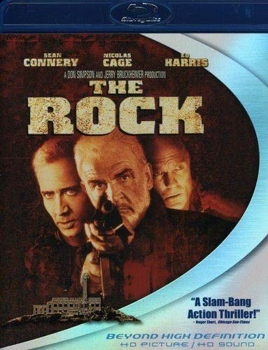 The Rock - Sean Connery - Blu Ray Importado  - Billbox Records