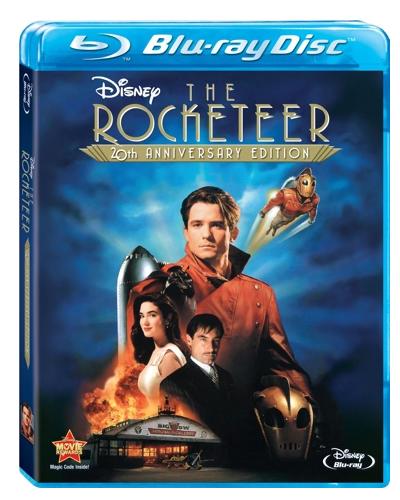 The Rocketeer Anniversary Edition - Blu ray Importado  - Billbox Records