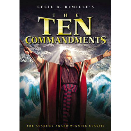 The Ten Commandments - Dvd Importado  - Billbox Records