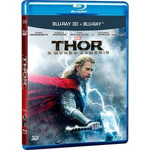 Thor / O Mundo Sombrio 3D - Blu ray  - Billbox Records