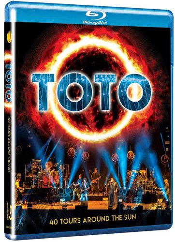 Toto - 40 Tours Around The Sun - Blu Ray Importado  - Billbox Records