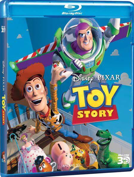 Toy Story 3D  - Blu Ray Nacional  - Billbox Records