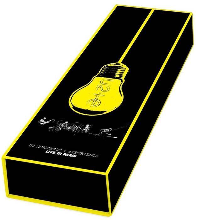 U2 iNNOCENCE + eXPERIENCE Live in Paris Deluxe Edition - Box 2 Dvds + Blu ray Importados  - Billbox Records