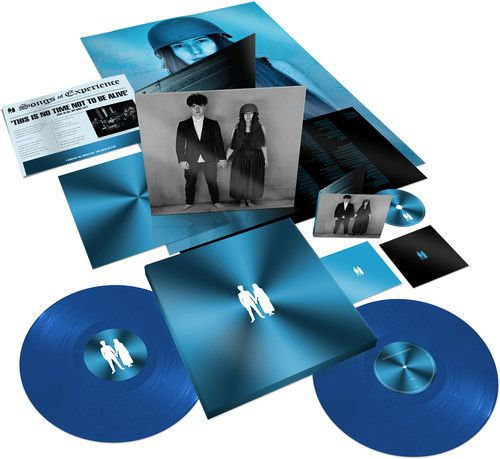 U2 Songs Of Experience Extra-Deluxe Colour Vinil - Box CD + 2 Lps Importados  - Billbox Records