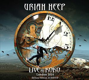 Uriah Heep - Live In Koko London 2014  2 CDS  Deluxe Edition COM DVD  - Billbox Records