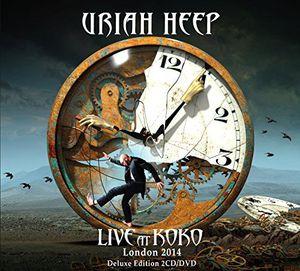 Uriah Heep - Live In Koko London 2014  2 CDS  Deluxe Edition COM DVD  - Billbox Records