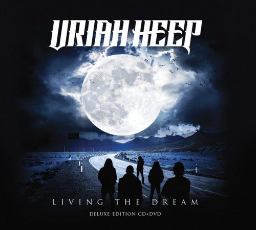 Uriah Heep -  Living The Dream - Deluxe Edition - Cd+Dvd Importado  - Billbox Records