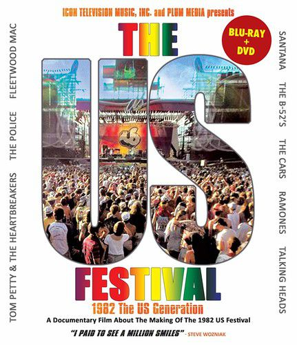 Us Festival: 1982 The Us Generation - Blu Ray Importado  - Billbox Records