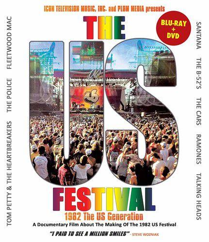 Us Festival: 1982 The Us Generation - Blu Ray Importado  - Billbox Records